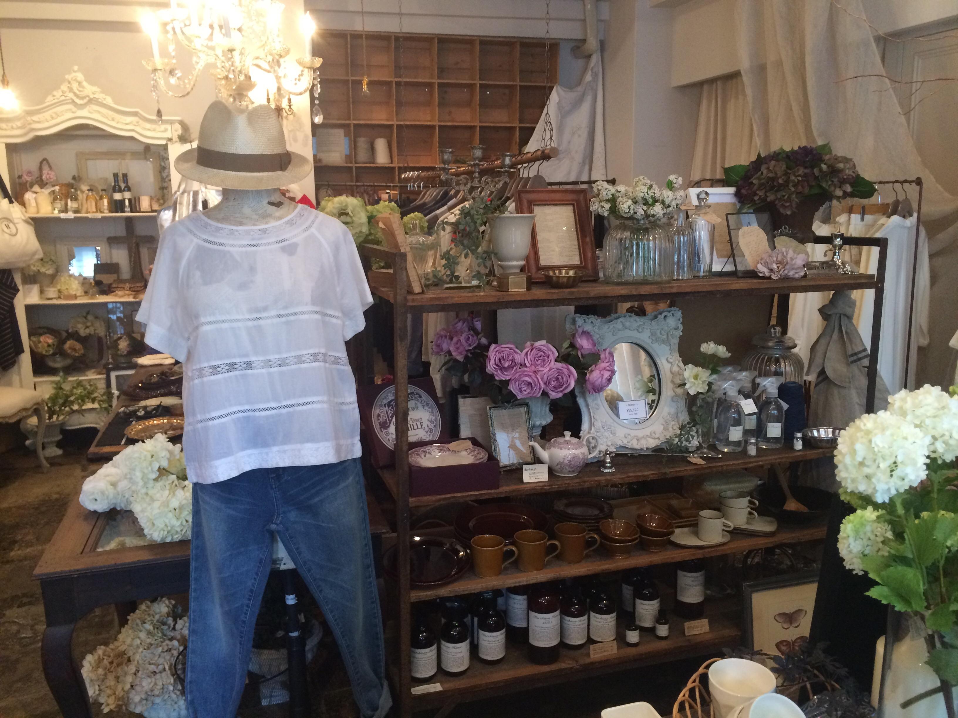 英国王族も御用達紅茶を買える雑貨屋さん「ROSE&VIOLETTE」を発見