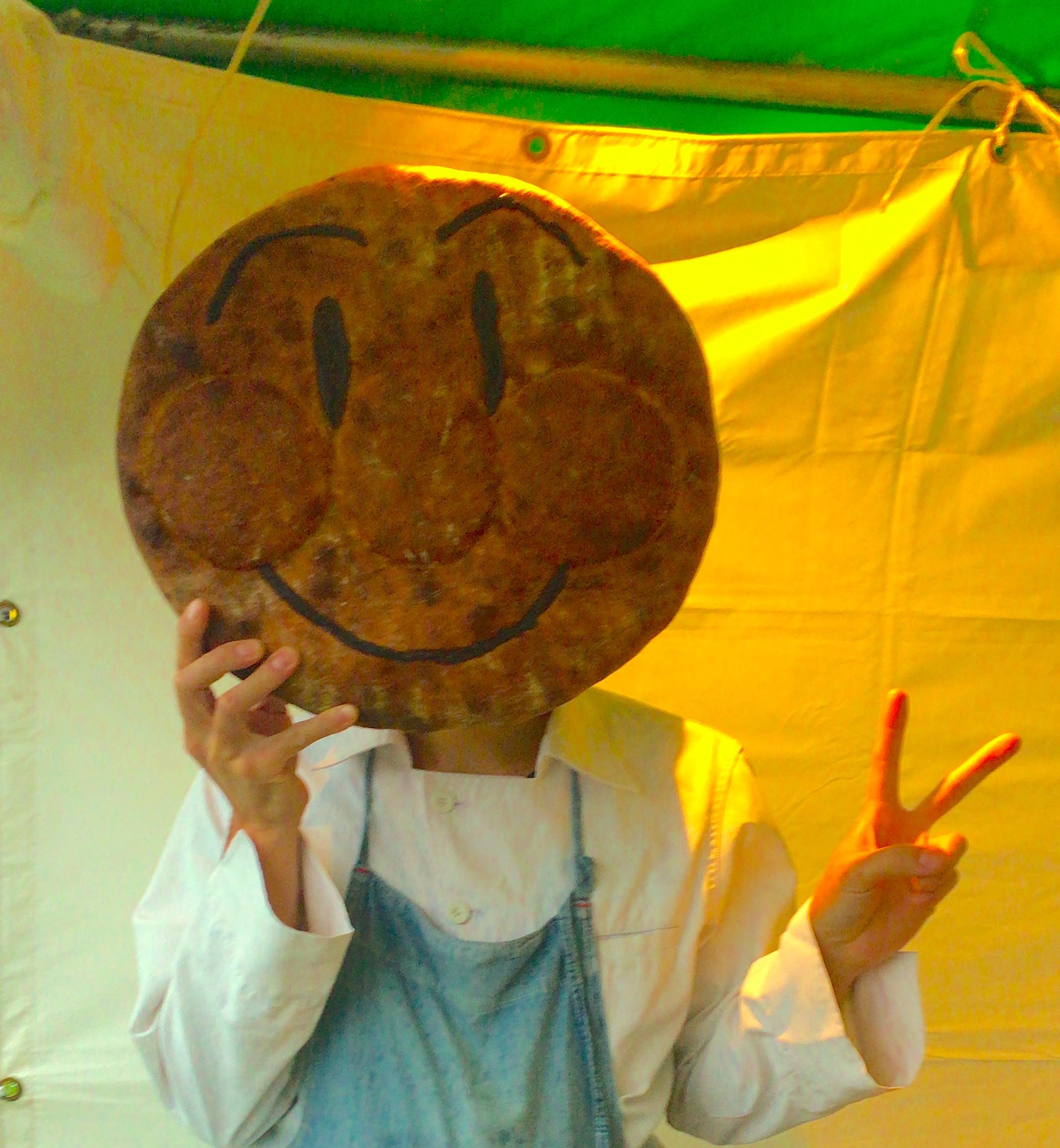 リアルサイズアンパンマンのパン!「TheBakers」のみなさんが作ってくれた!でかい!