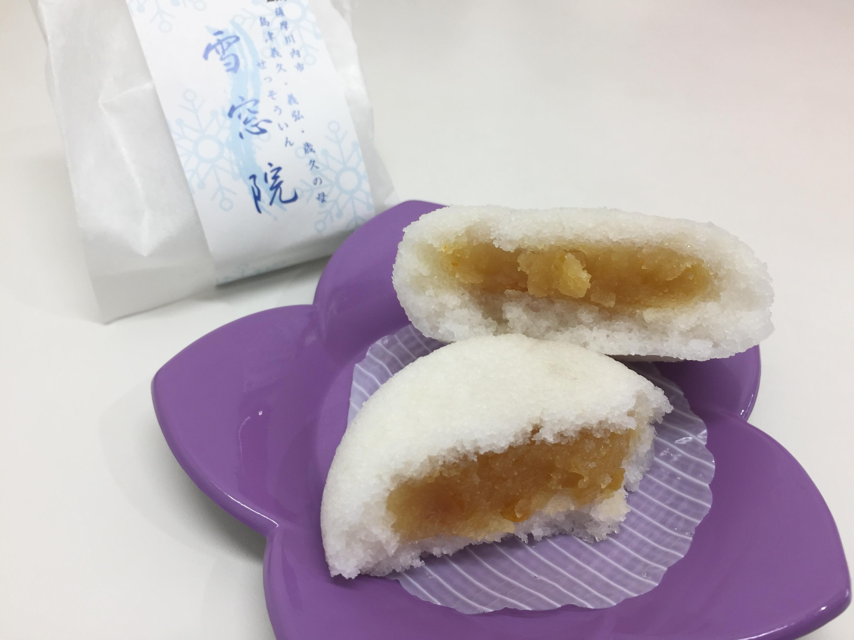 【朗報】かるかん界に若手ホープ爆誕!!その名も入来銘菓「雪窓院」だ!!