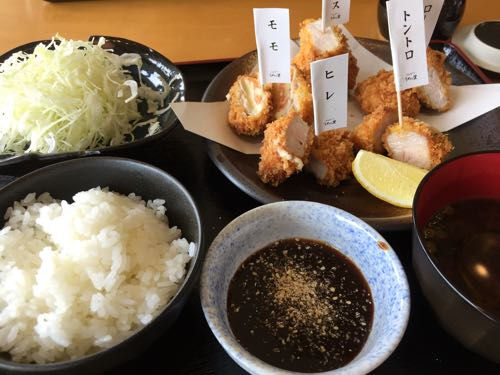 【とんかつ うめの里】薩摩川内市東郷町で甘熟豚5種味比べ定食を堪能