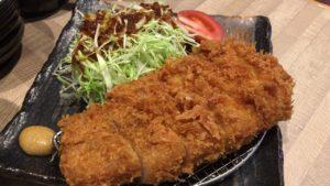 【八木男】屋台村ランチで激ウマ肉厚ブランド豚トンカツを食べる【茶美豚】