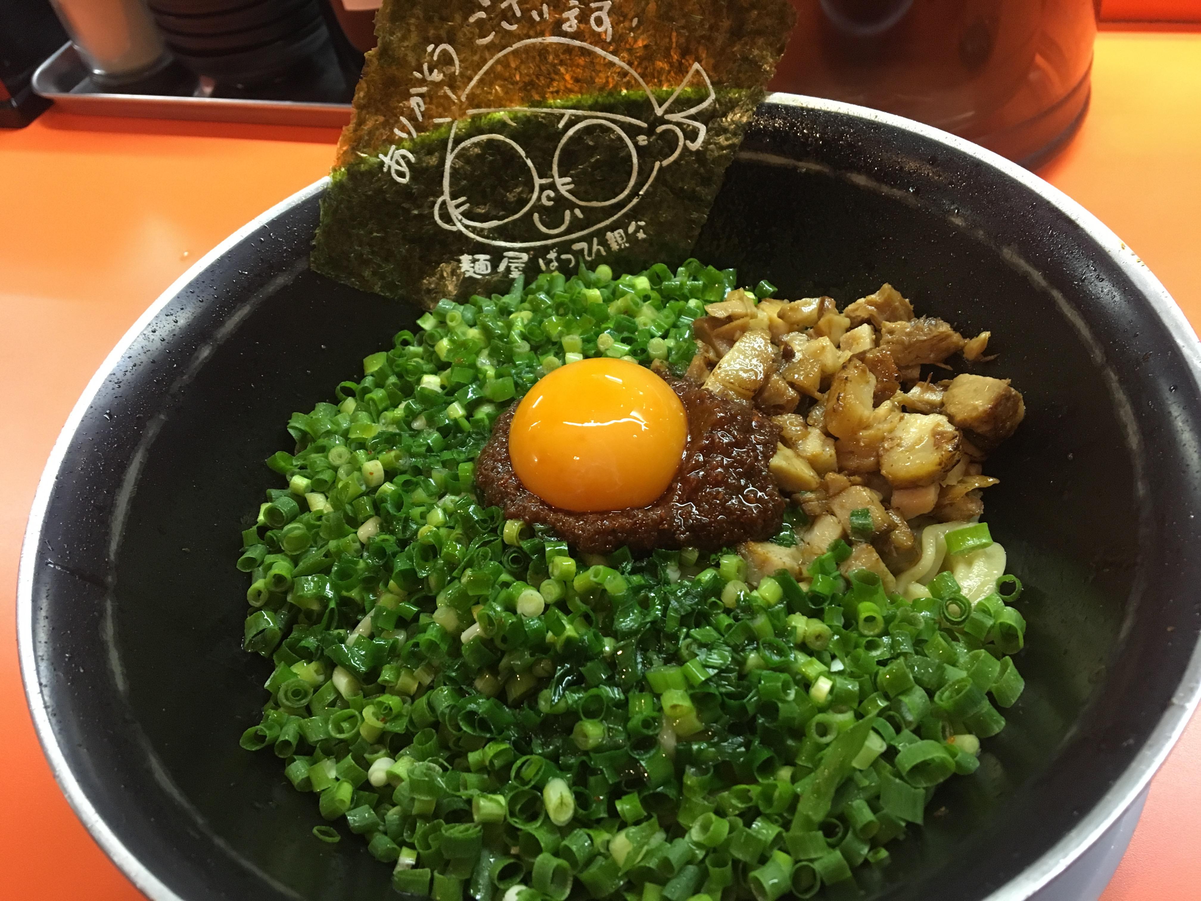 【全部食いたかった】鹿児島市麺屋ばってん親父のまぜそばを一口だけ食べたハナシ【majide】