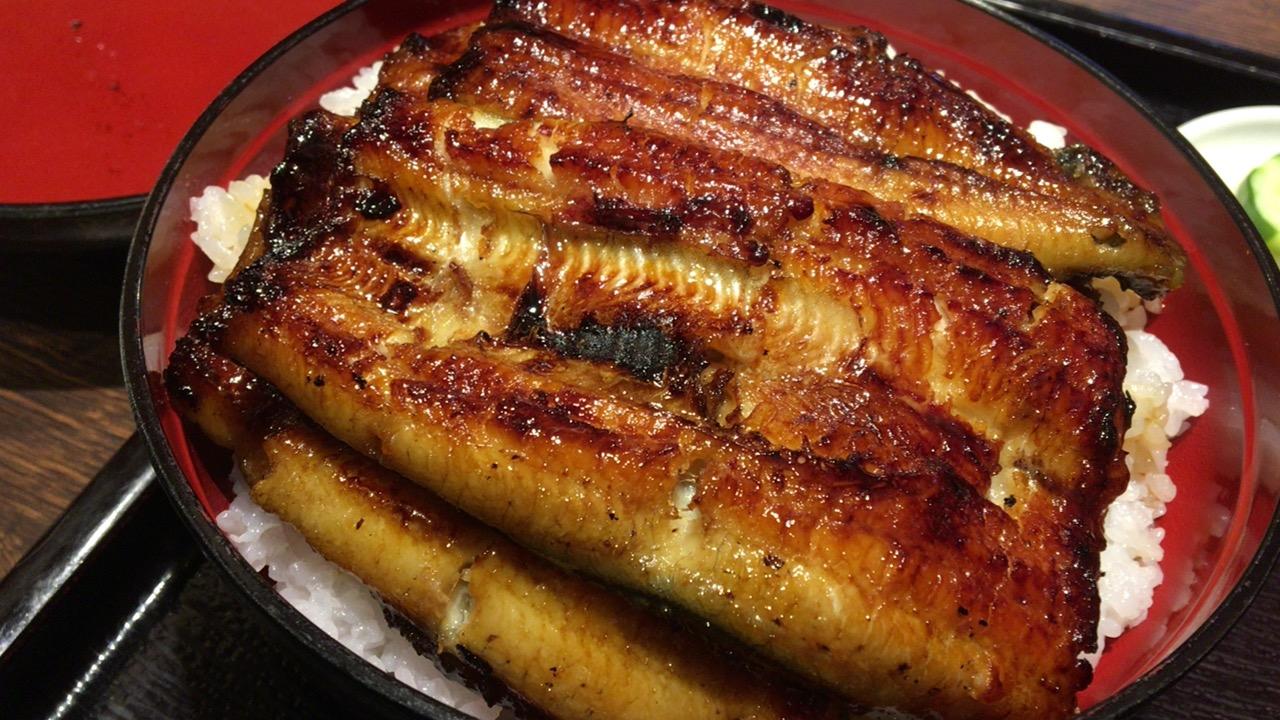 【土用丑の日2019】鹿児島市の名店昭和21年創業「うなぎの松重」でうな丼(極)を食べた