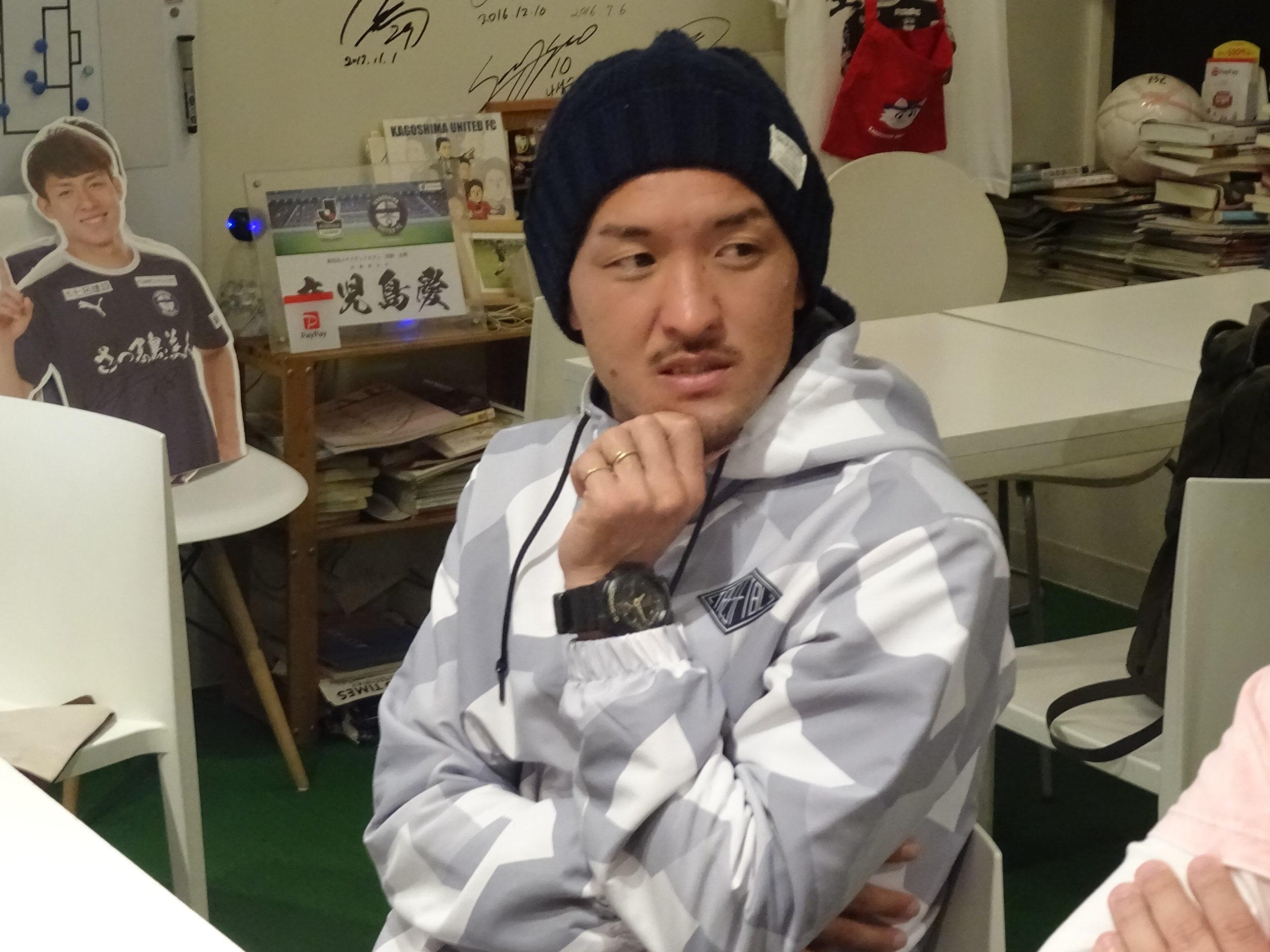 【鹿児島ユナイテッドFC】ユナカフェいったら引退した田上裕さんがいたのでいろいろ聞いてみた。【レジェンド】