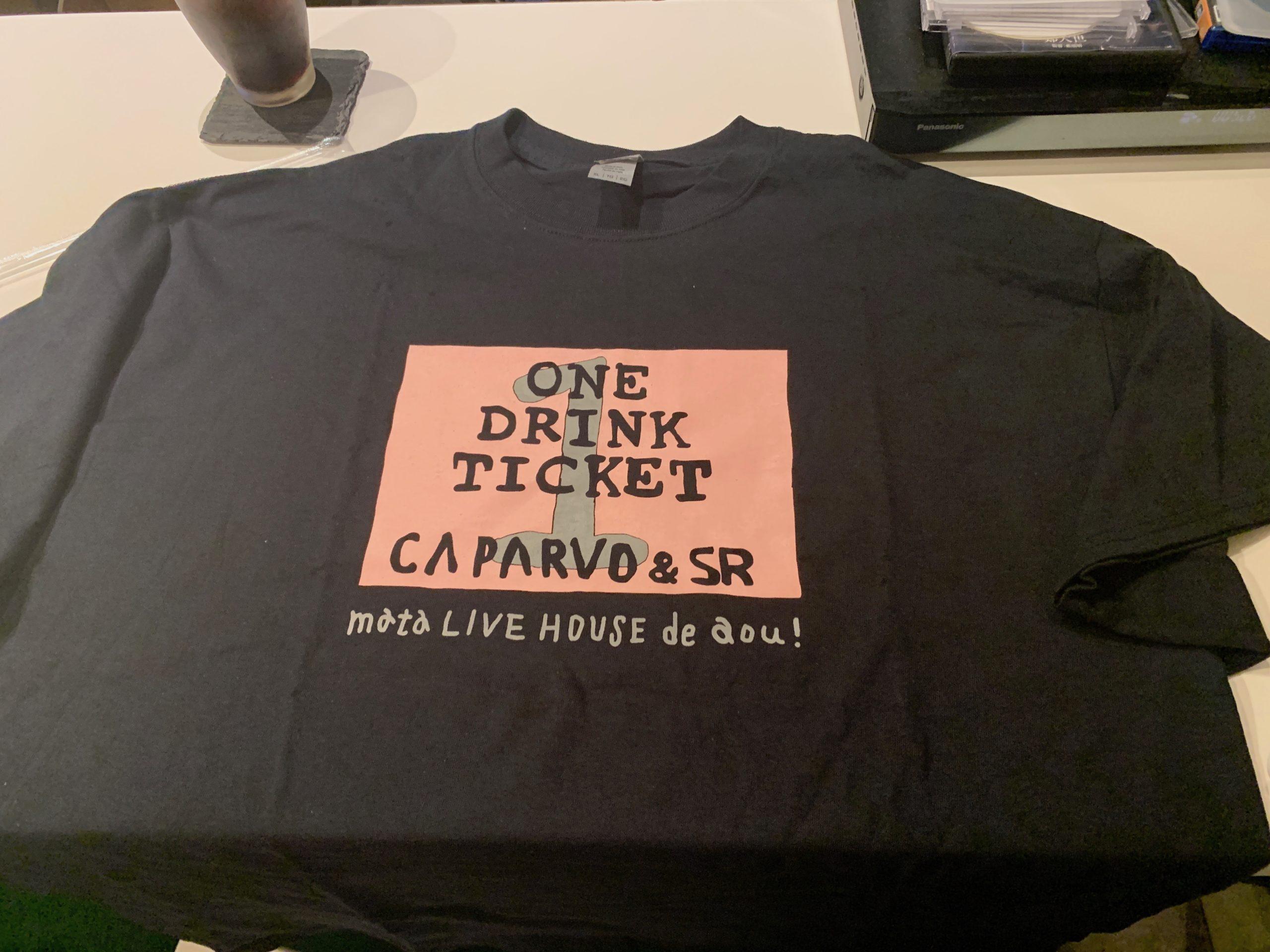 鹿児島のライブ好きならもれなく「これはw」となるTシャツが爆誕!