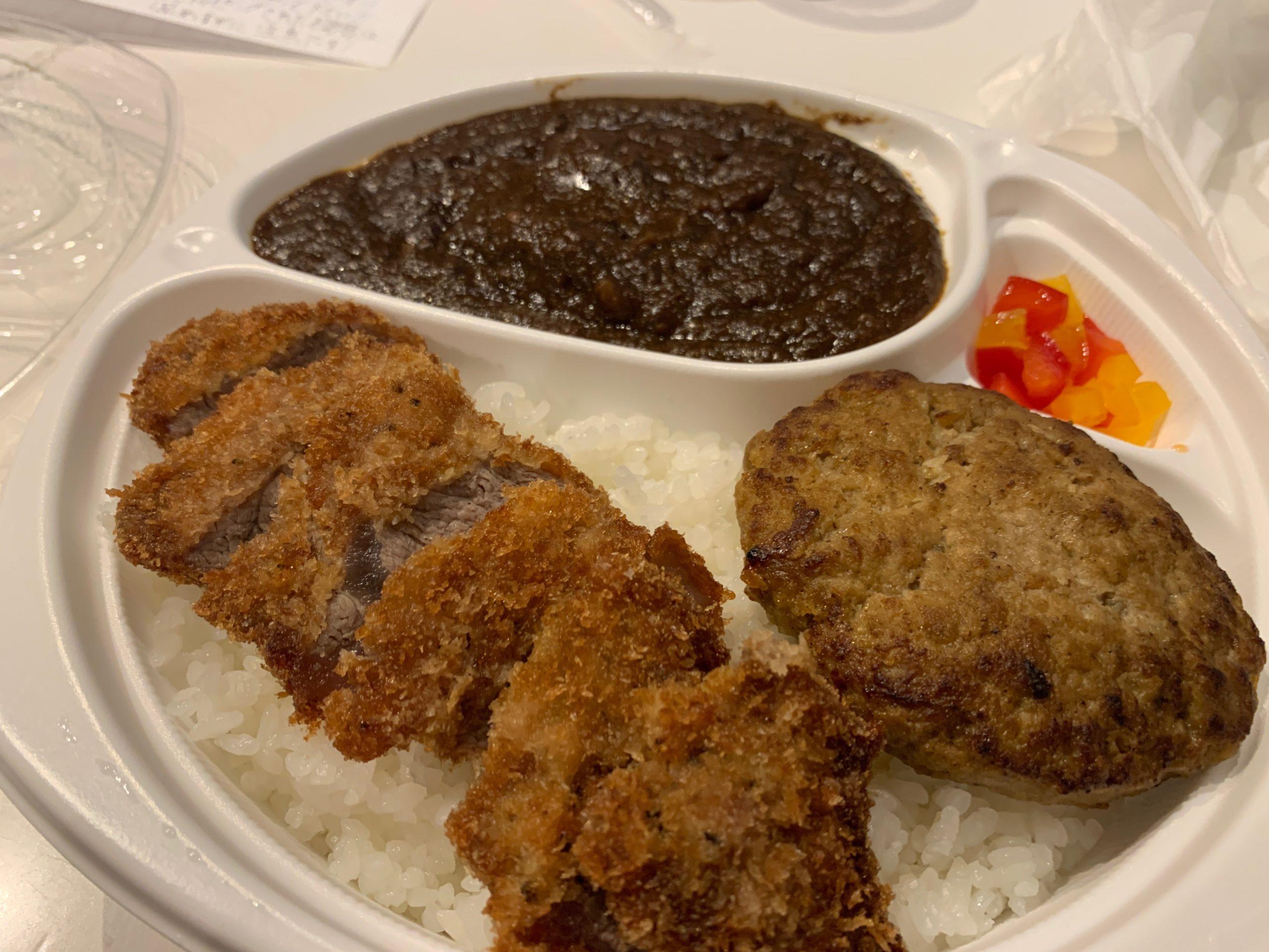 【天文館・パスタン】スーパー肉肉しいステーキ屋さんのカレーが美味い!