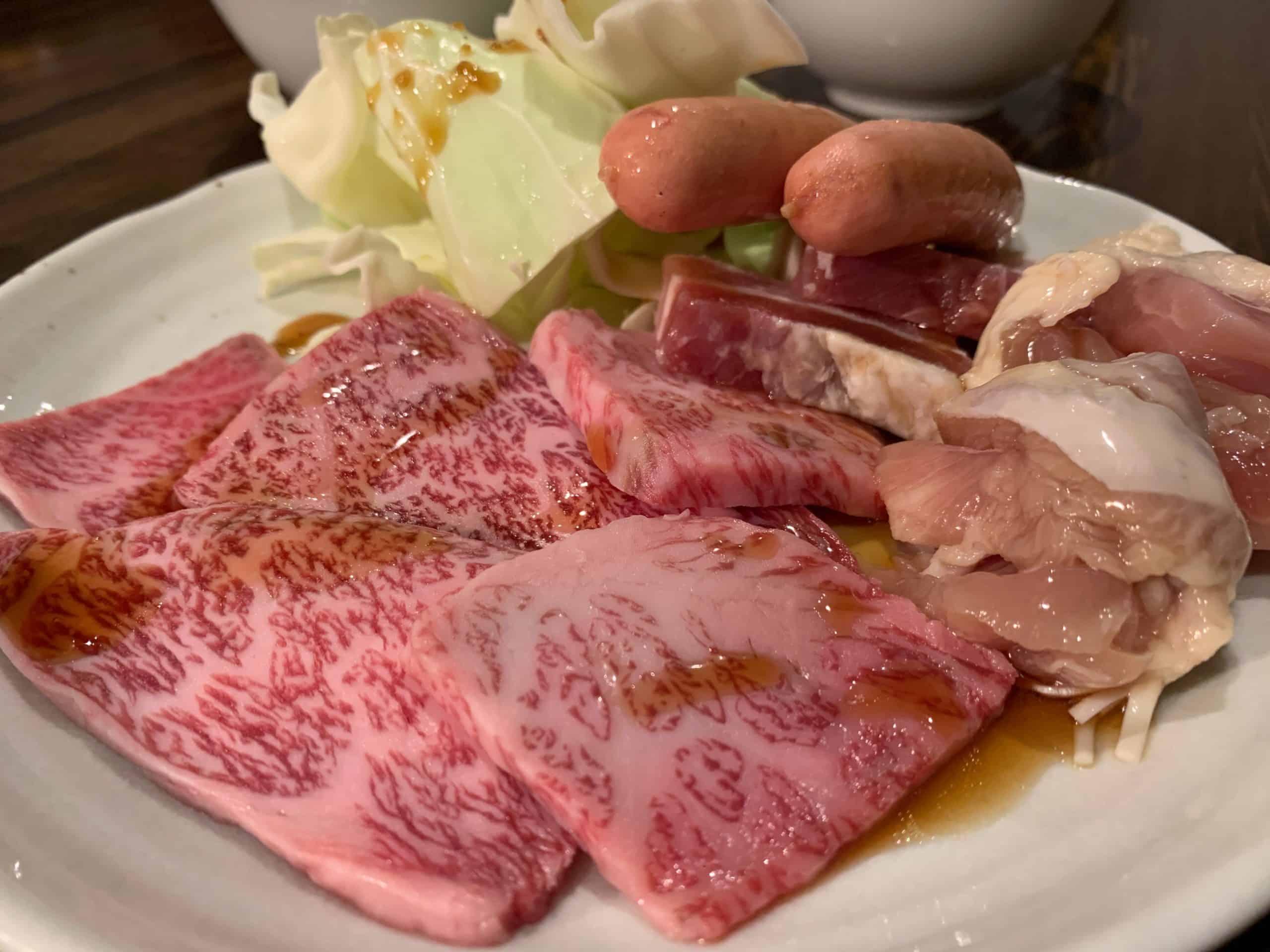 いちき串木野市「だいにんぐ味彩」でモノが違う焼肉とハンバーグを堪能した