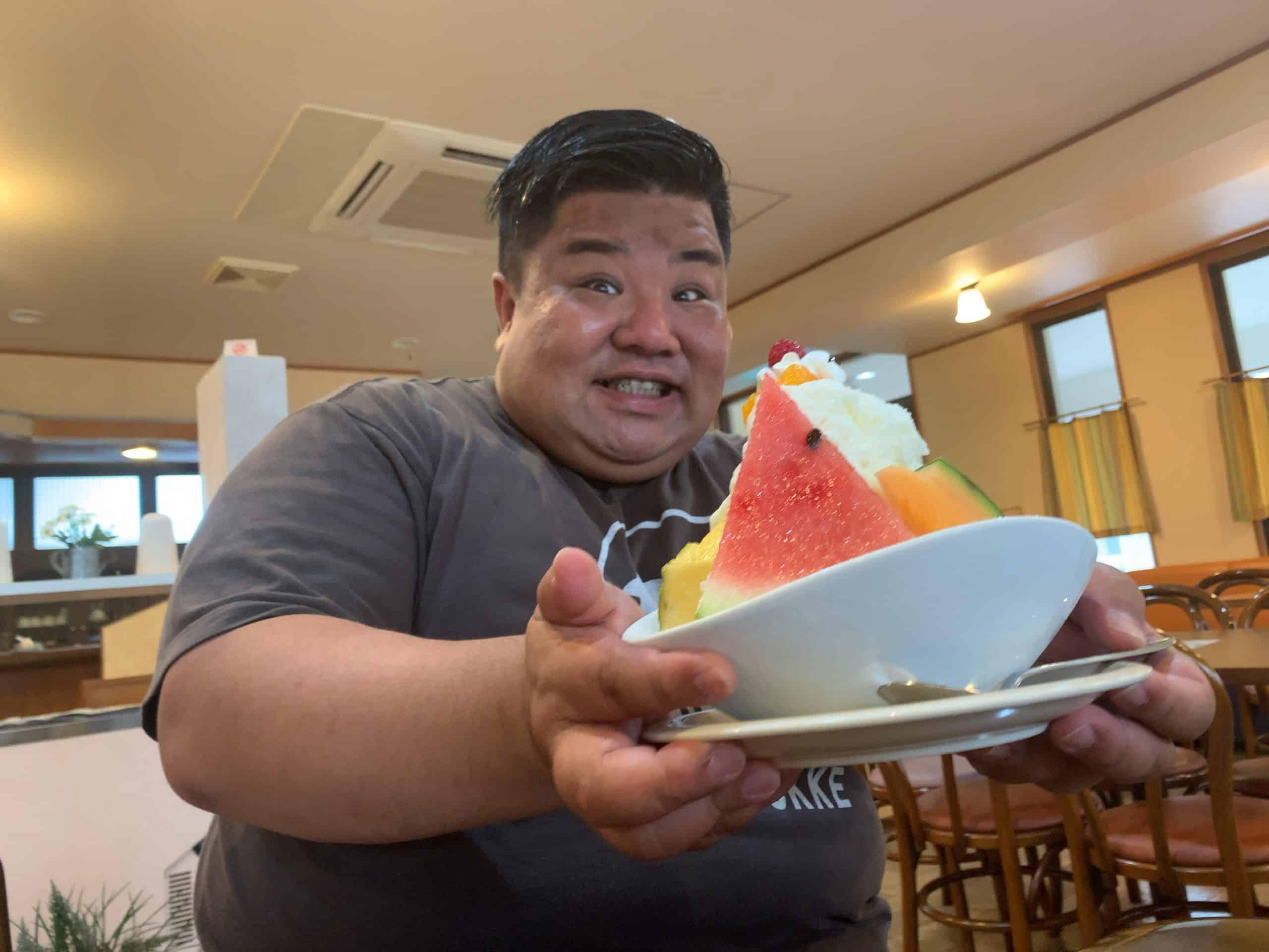 【シルクベール】いちき串木野市たけどんが家族で愛する「しろくま」を食べに行った