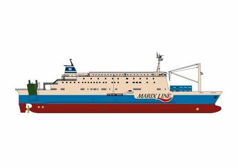 マリックスラインが新造船 鹿児島・奄美・沖縄航路、21年12月就航 11月16日まで船名一般公募